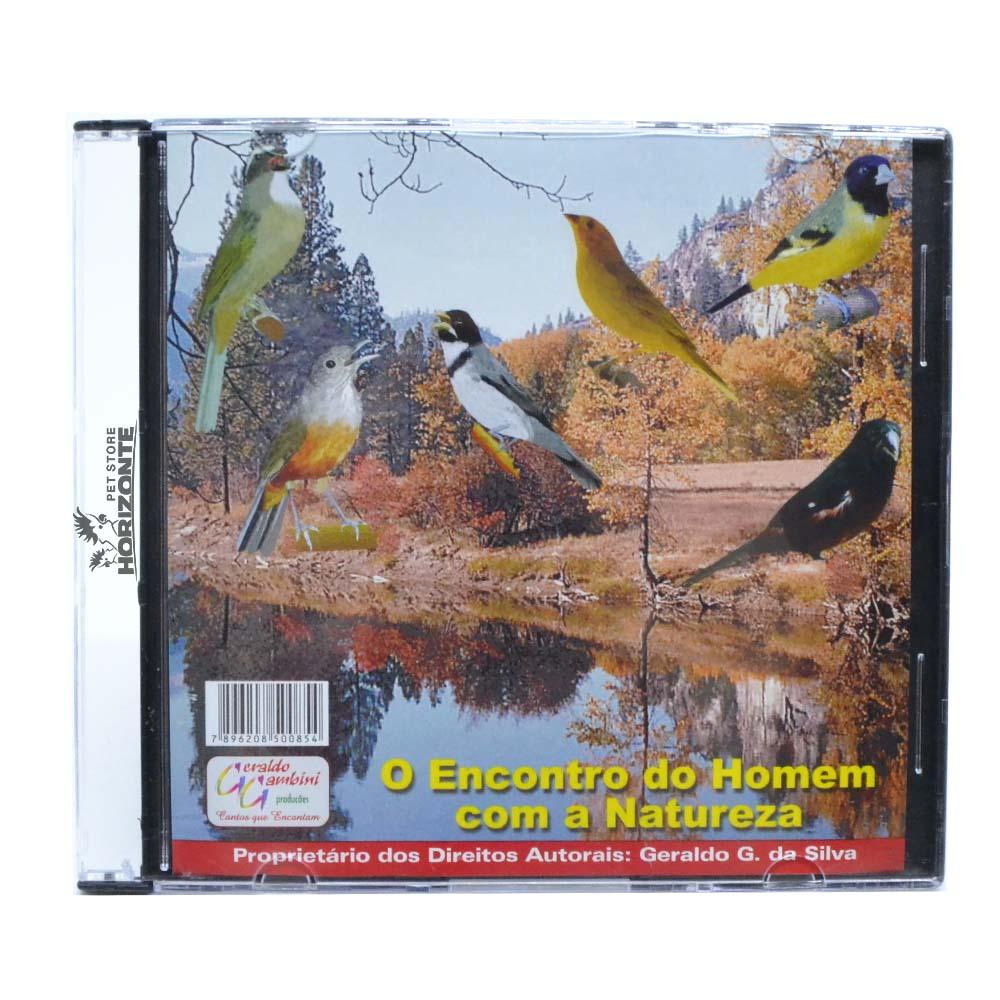 CD - O Encontro do Homem com a Natureza - Volume 1
