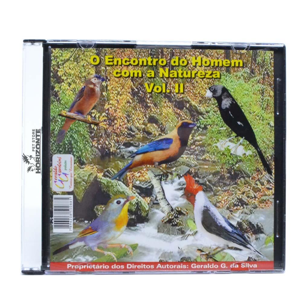 CD - O Encontro do Homem com a Natureza - Volume 2