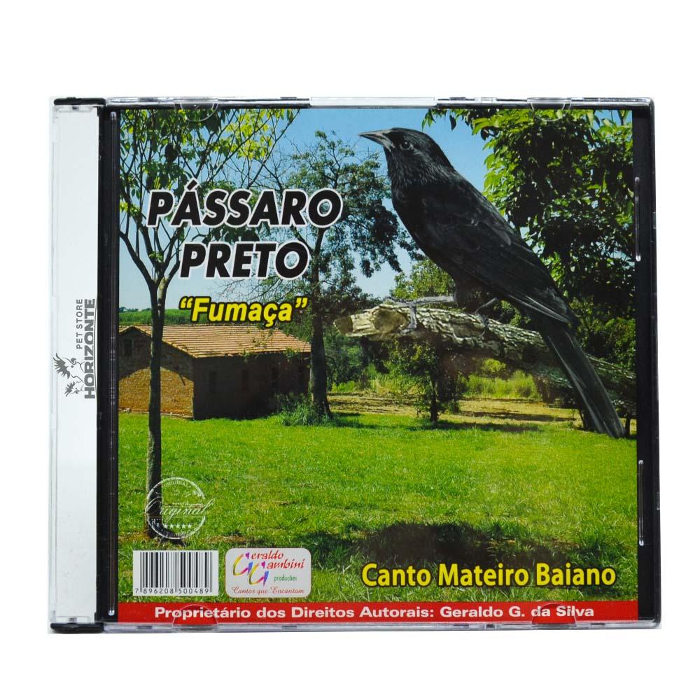 CD - Pássaro Preto - Fumaça