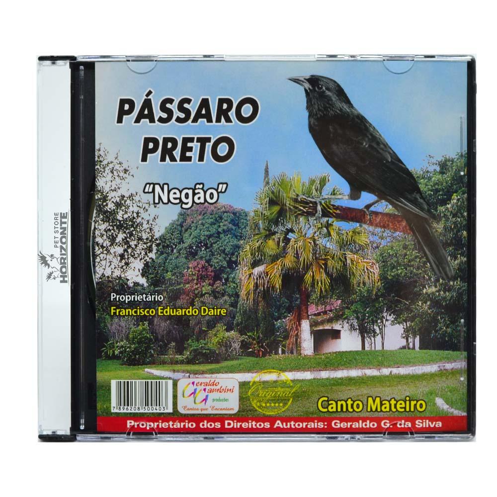 CD - Pássaro Preto - Negão