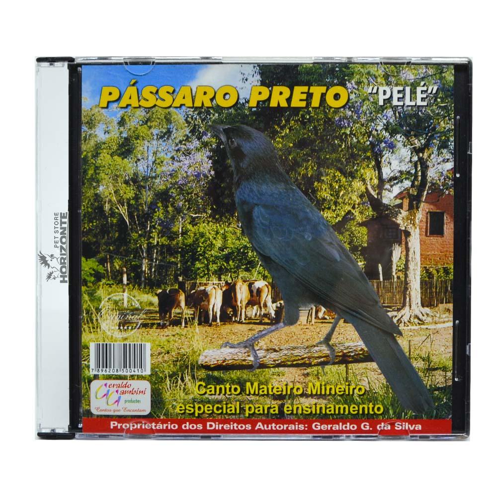 CD - Pássaro Preto - Pelé