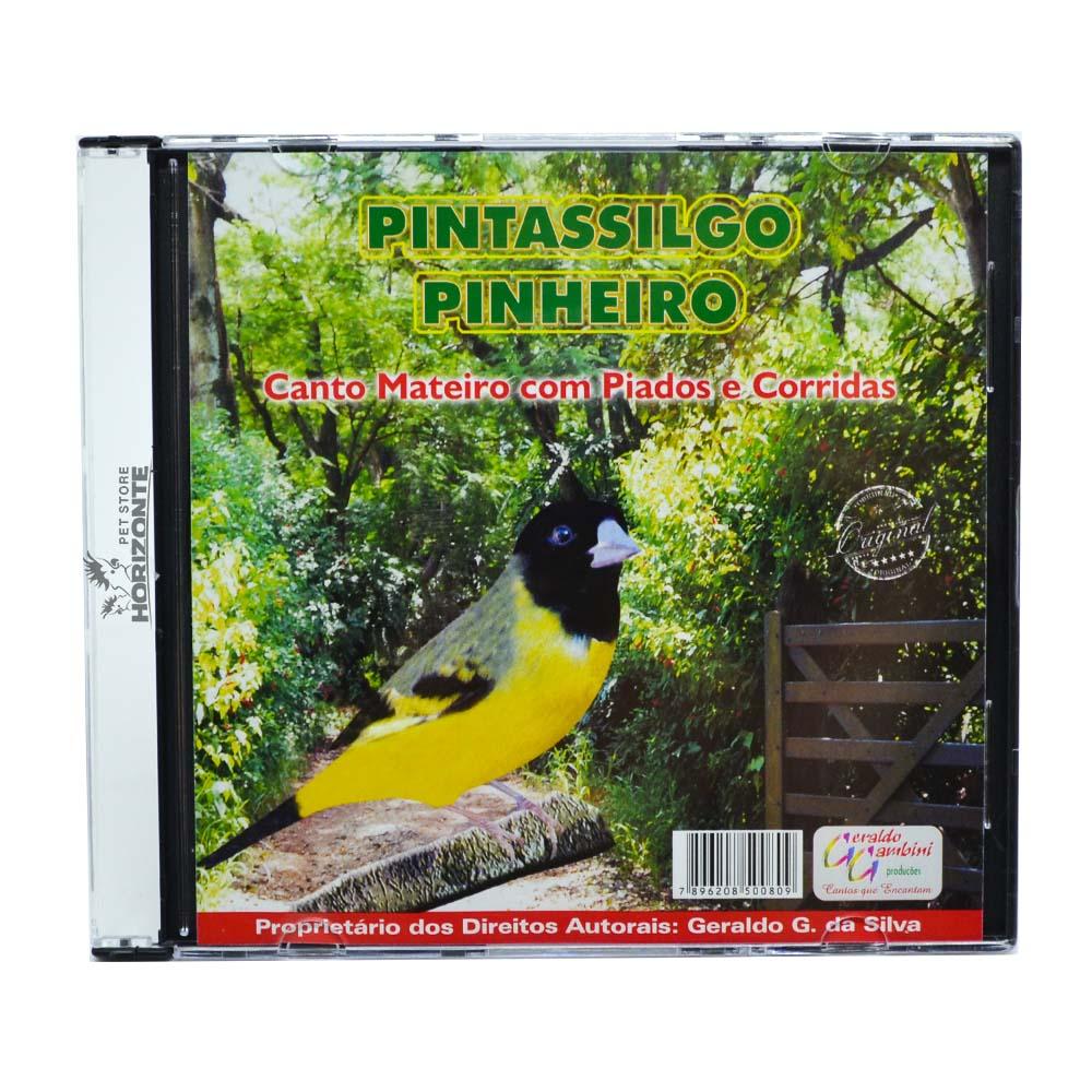 CD - Pintassilgo Pinheiro - Canto Mateiro