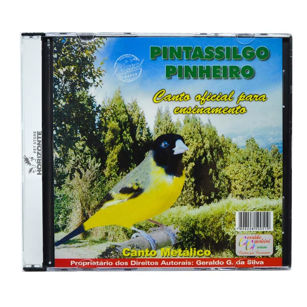 CD - Pintassilgo Pinheiro - Canto Metálico