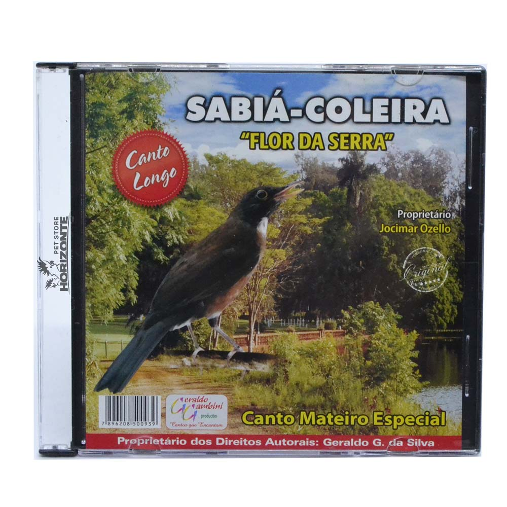CD - Sabiá Coleira - Flor da Serra