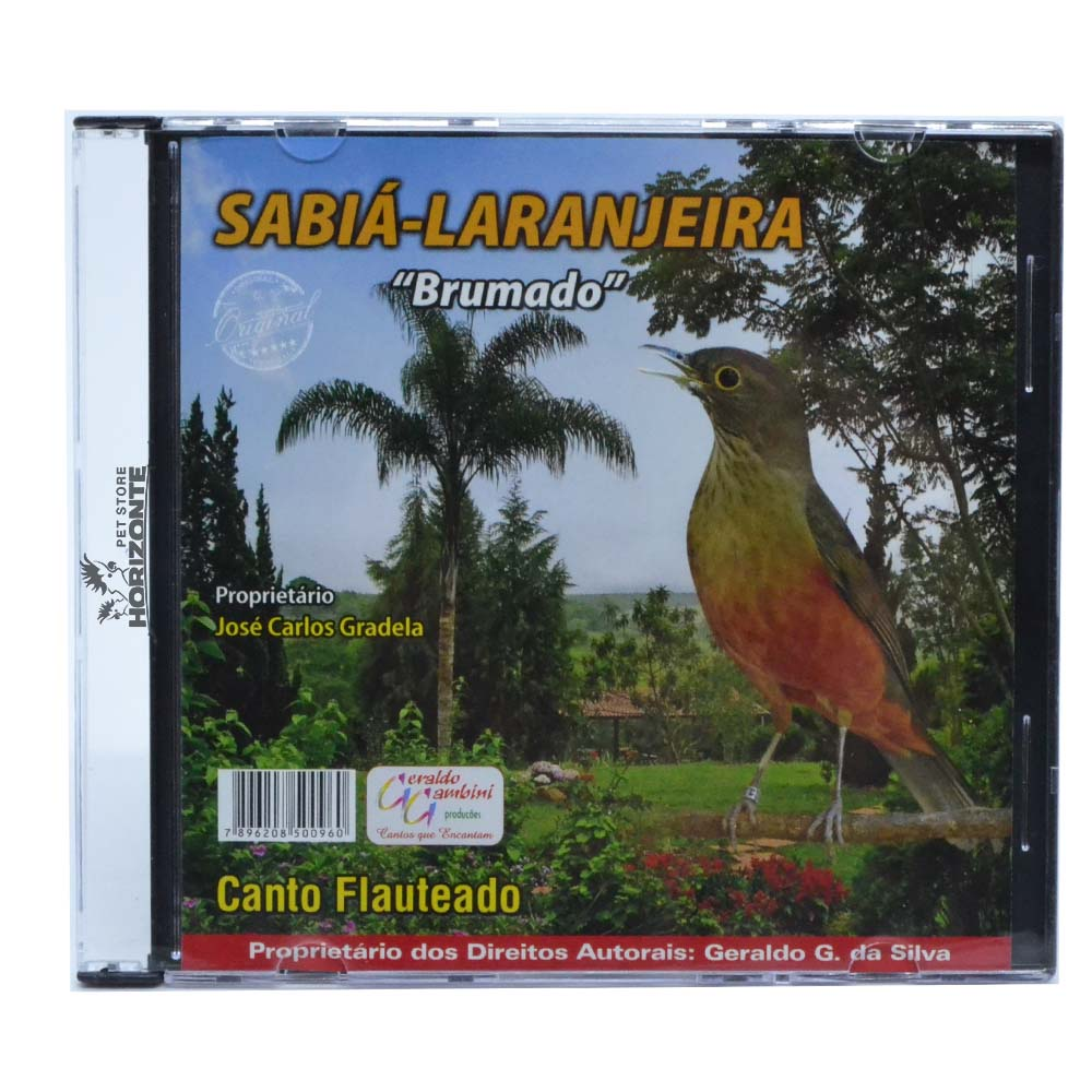 CD - Sabiá Laranjeira - Brumado
