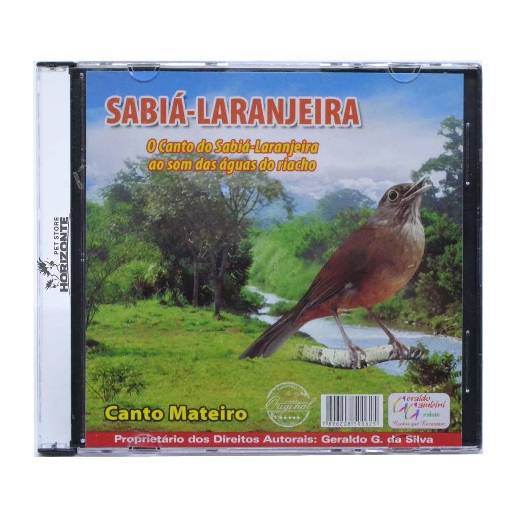 CD - Sabiá Laranjeira - Canto Mateiro