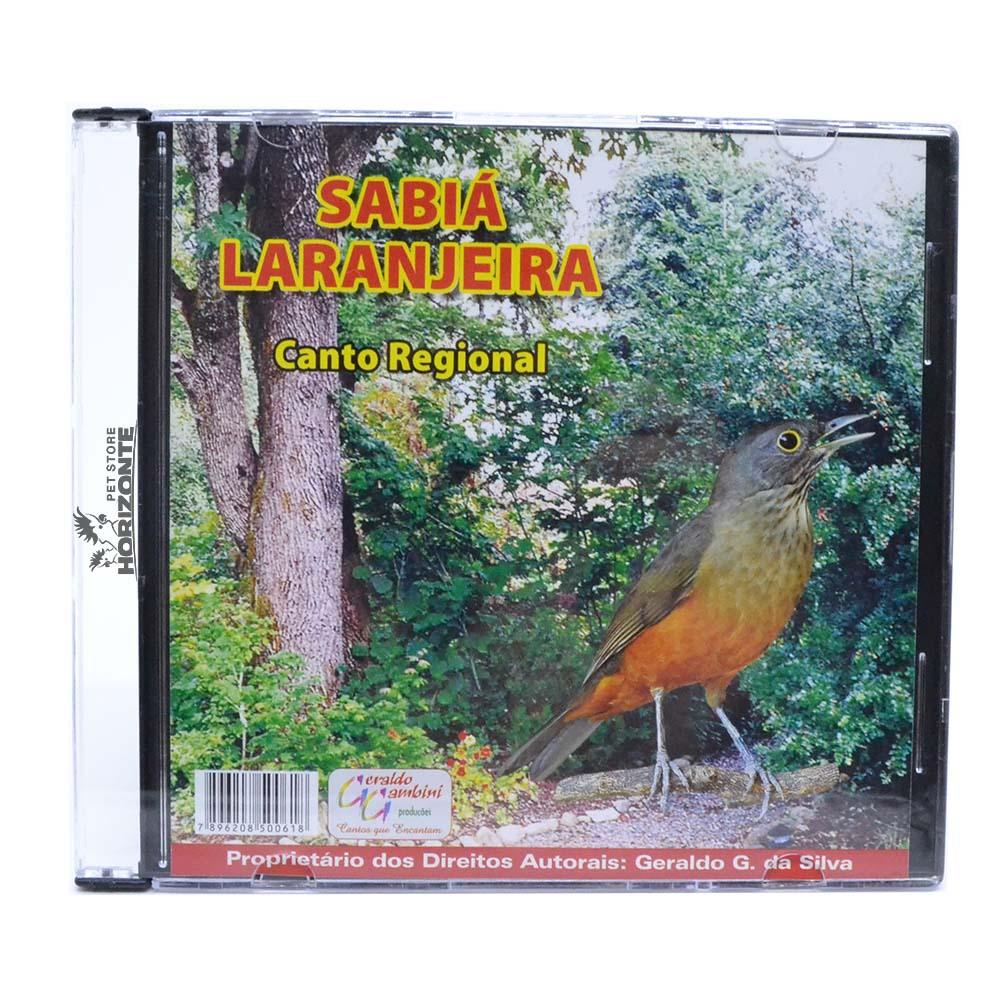 CD - Sabiá Laranjeira - Canto Regional