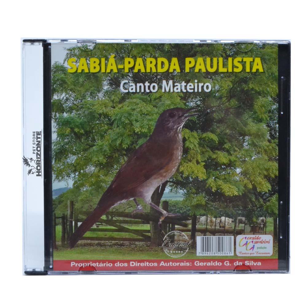 CD - Sabiá Parda Paulista