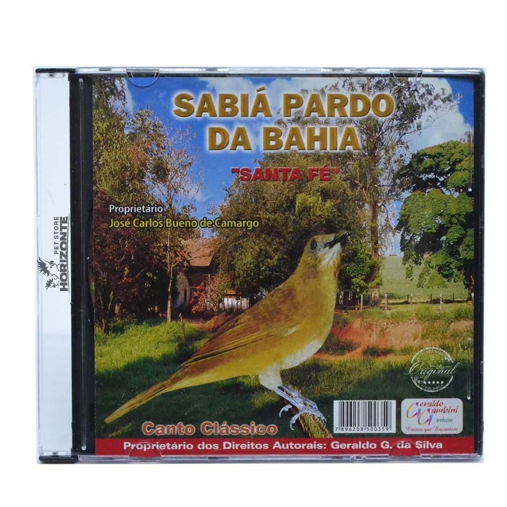 CD - Sabiá Pardo da Bahia - Santa Fé