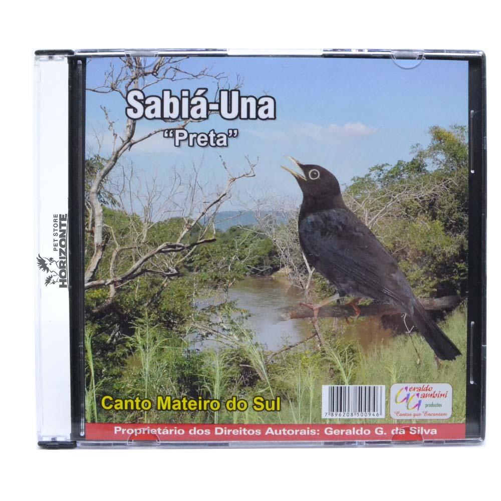 CD - Sabiá Una - Preta