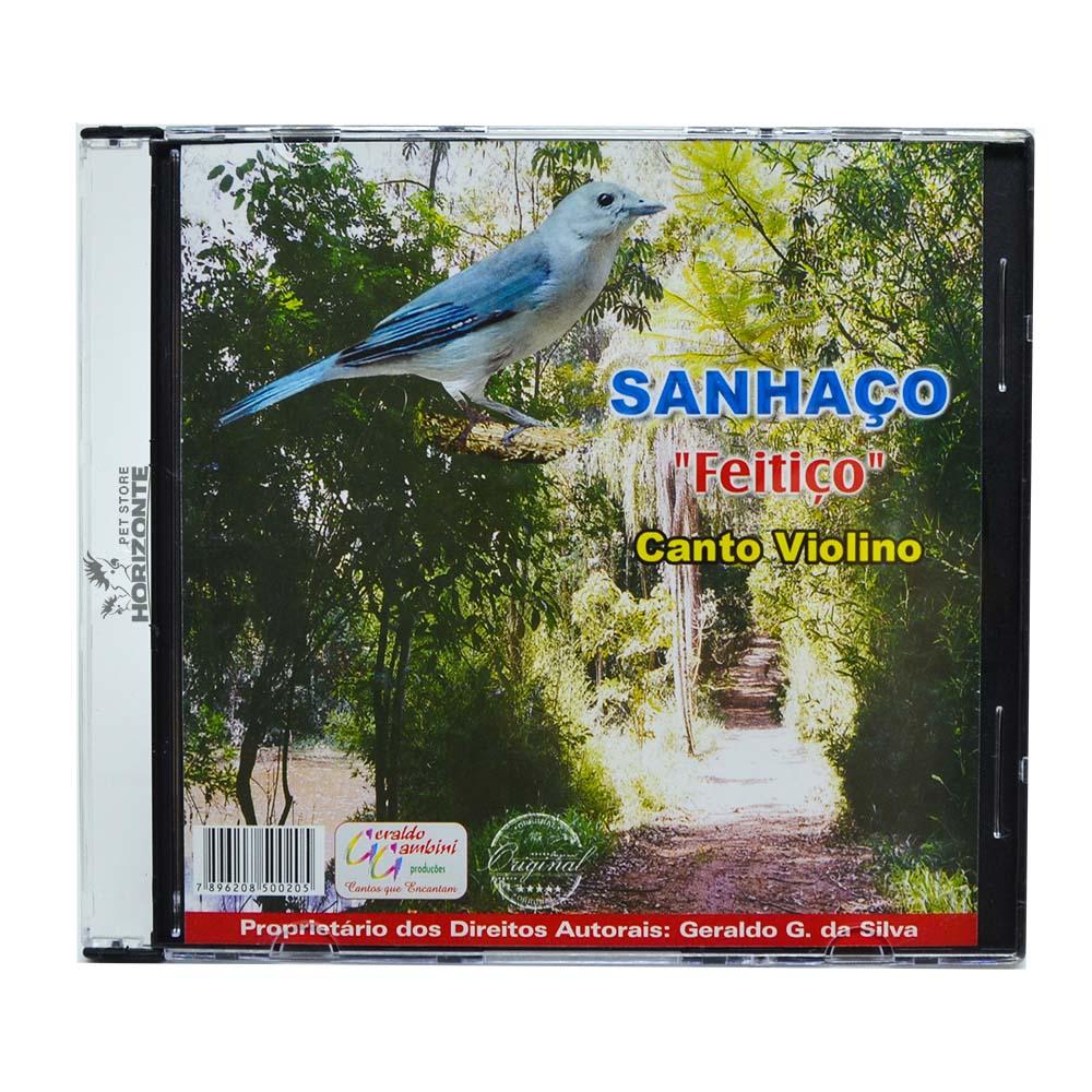 CD - Sanhaço - Feitiço