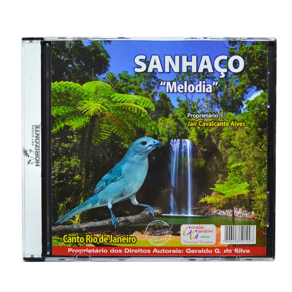 CD - Sanhaço - Melodia