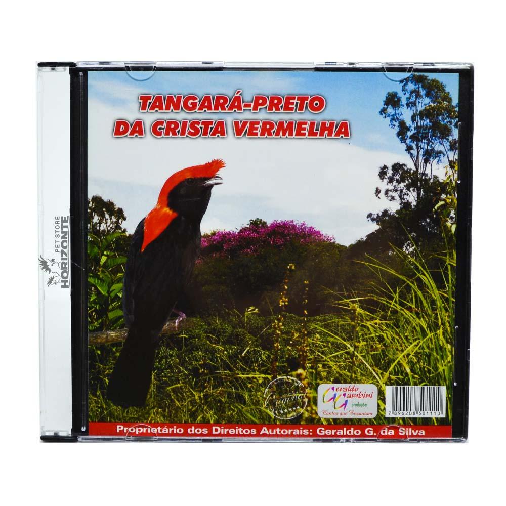 CD - Tangará Preto de Crista Vermelha