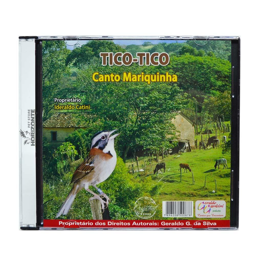 CD - Tico Tico - Canto Mariquinha