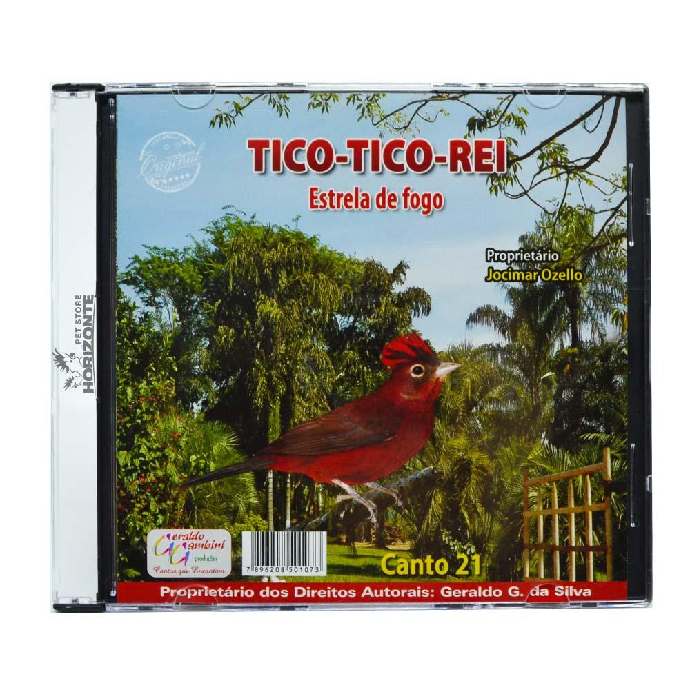CD - Tico Tico Rei - Estrela de fogo