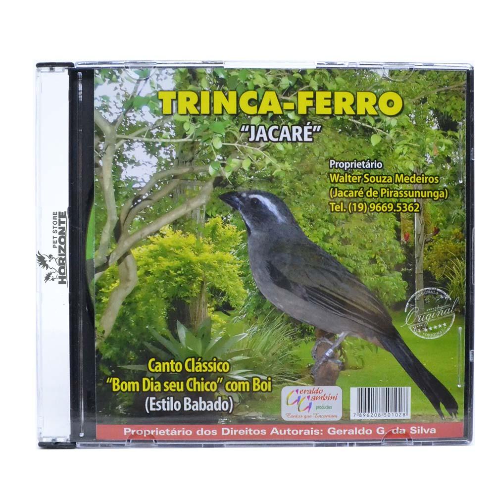 CD - Trinca Ferro - Jacaré