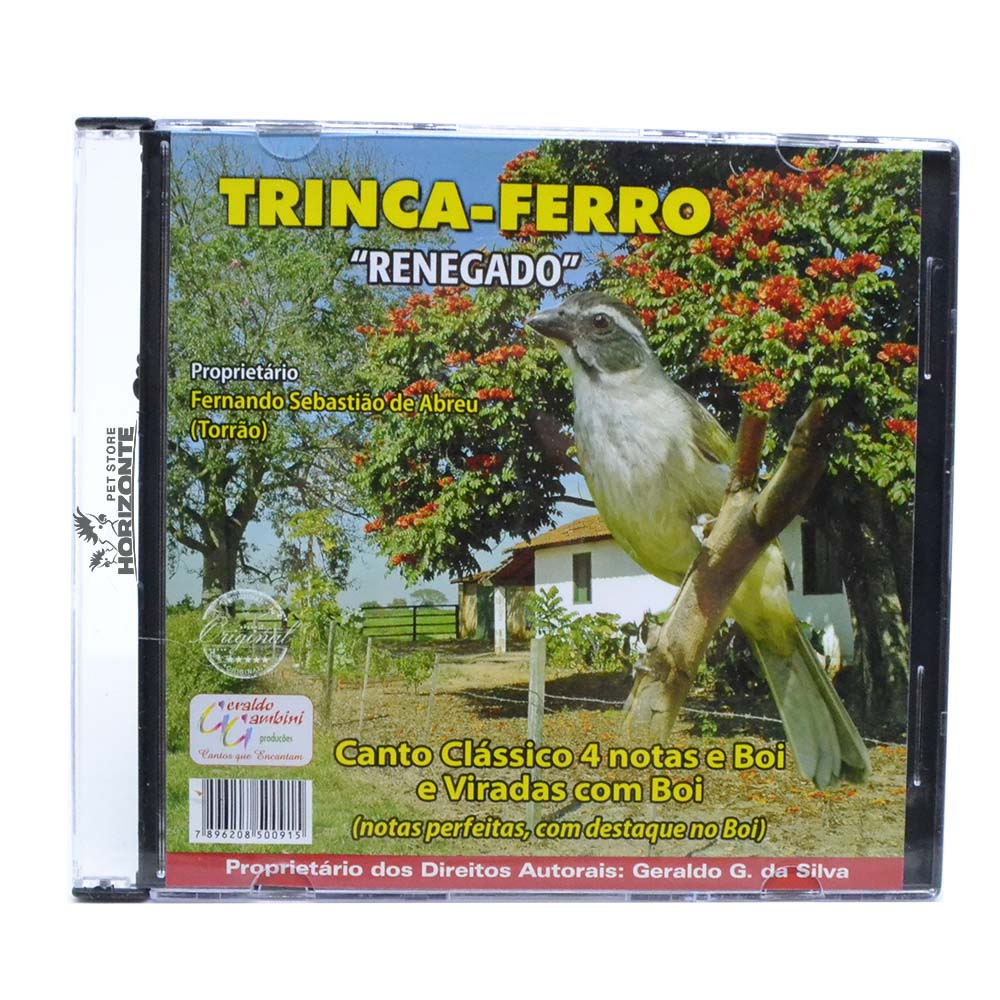 CD - Trinca Ferro - Renegado