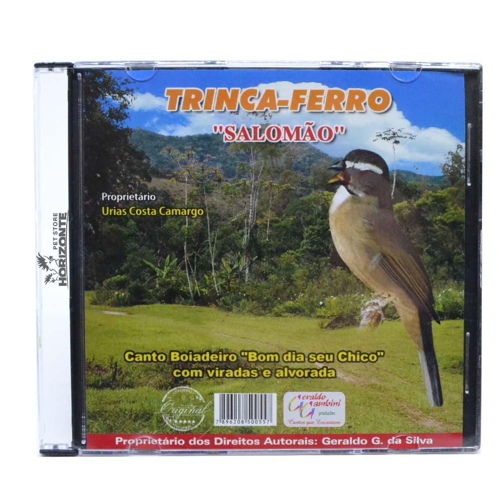 CD - Trinca Ferro - Salomão