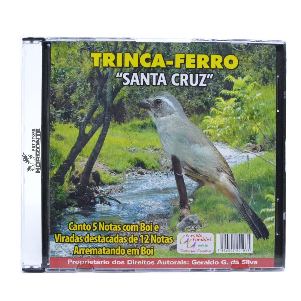 CD - Trinca Ferro - Santa Cruz