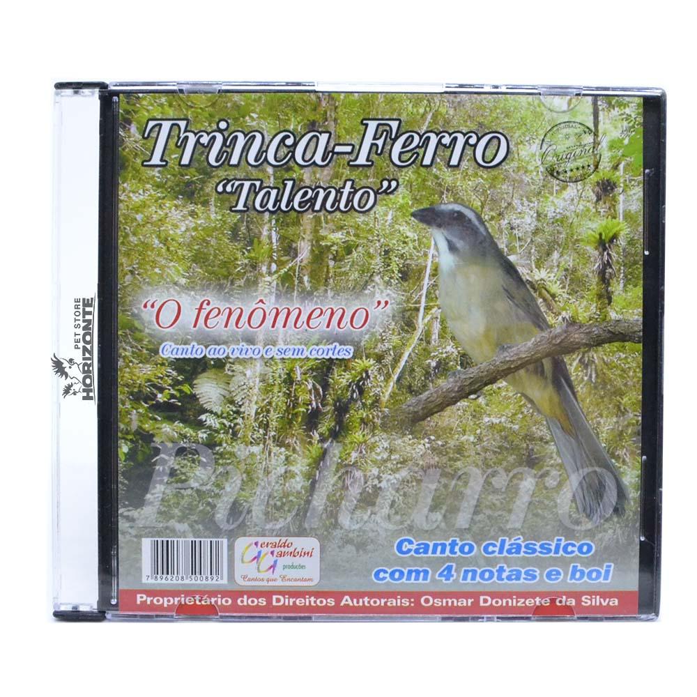 CD - Trinca Ferro - Talento ''O Fenômeno''