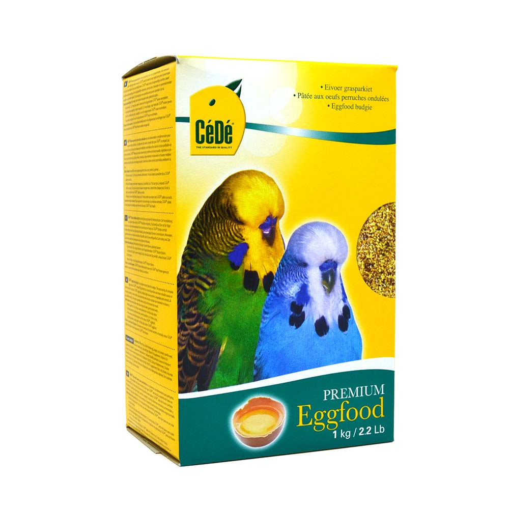 Cédé - Eggfood Budgies 1kg (Pequeno Psitacídeos)