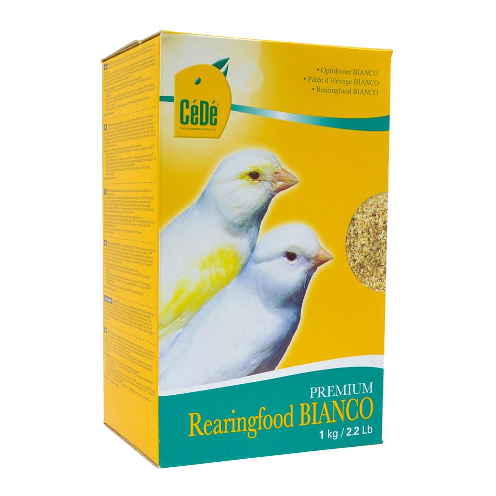 Cédé - Rearingfood Bianco 1kg (Passeriforme fator recessivo)