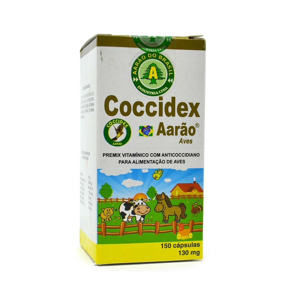 Coccidex 130mg - 150 cápsulas