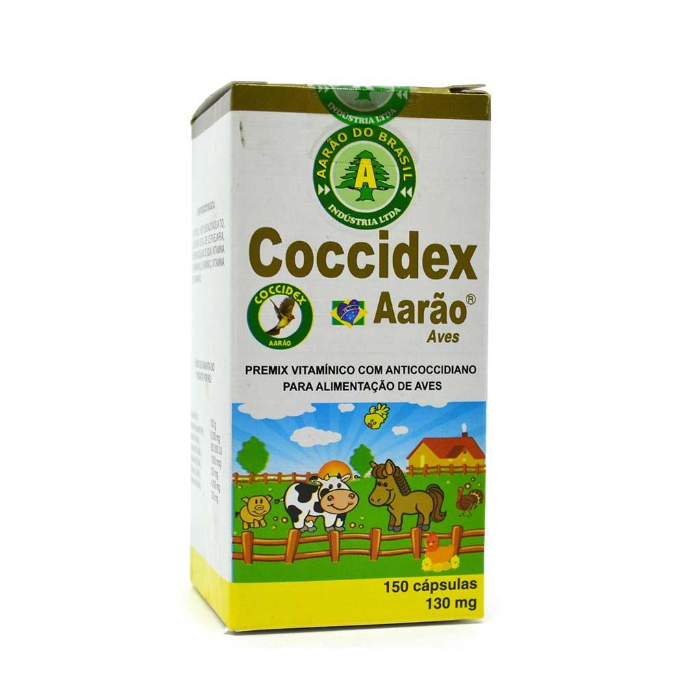 Coccidex 130mg - 150 cápsulas