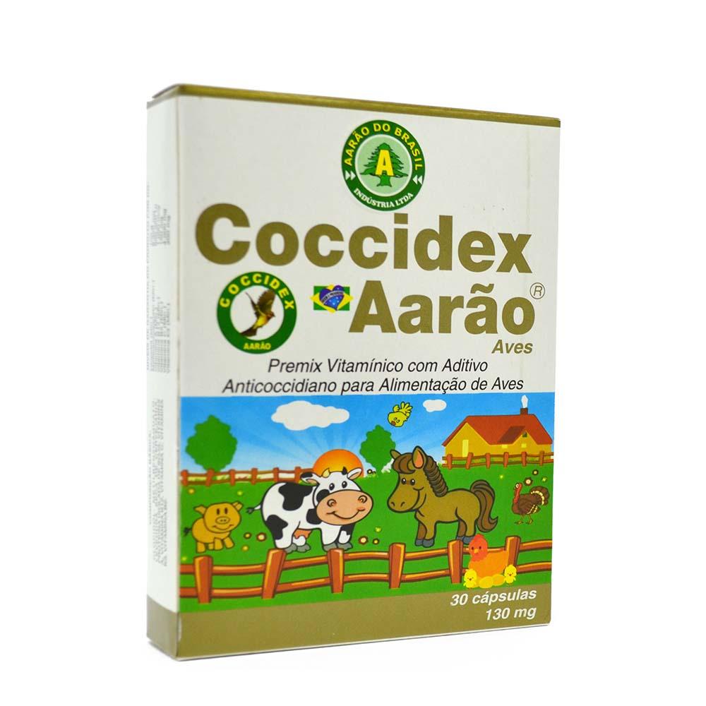 Coccidex 130mg - 30 cápsulas