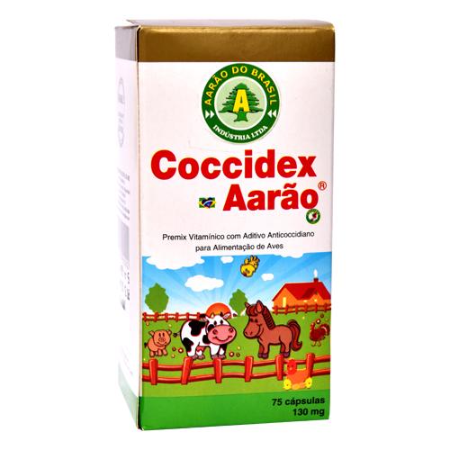 Coccidex 130mg - 75 cápsulas