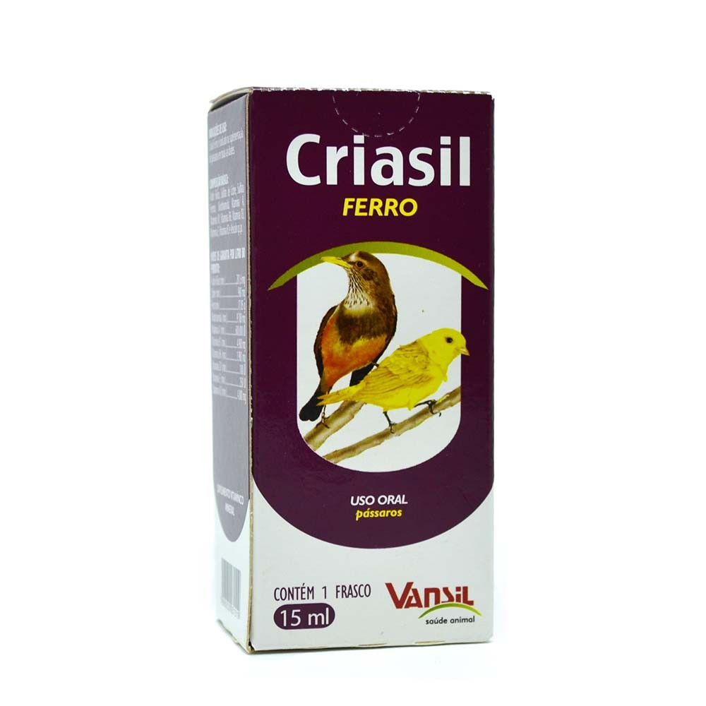 Criasil Ferro - 15ml