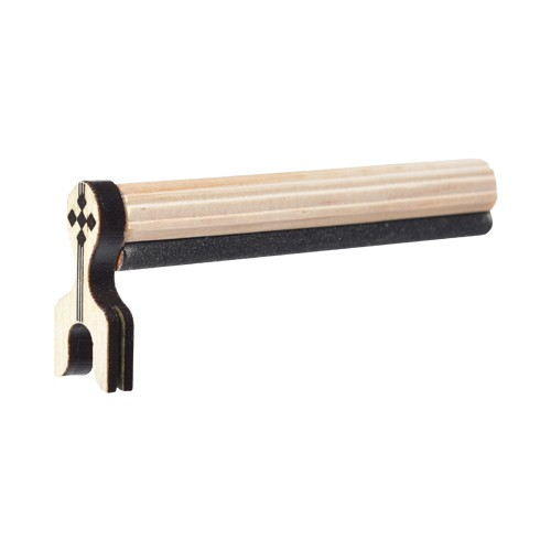 Dorminhoco Marfim C/ Lixa - Malha Fina - 10mm - Luxo