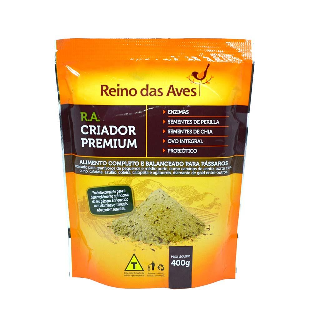 Farinhada com Ovos - RA Criador Premium - 400g