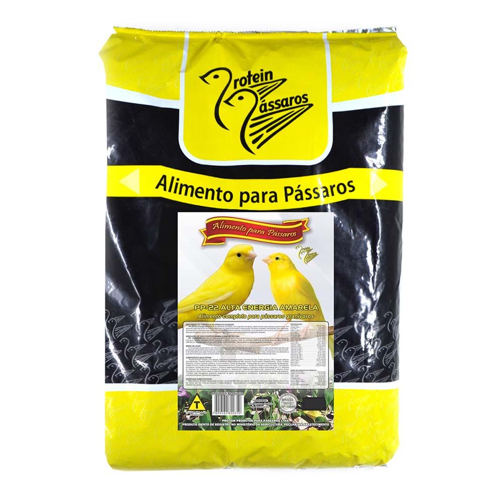 Farinhada PP-22 Alta Energia Amarela - Super Premium - 5kg