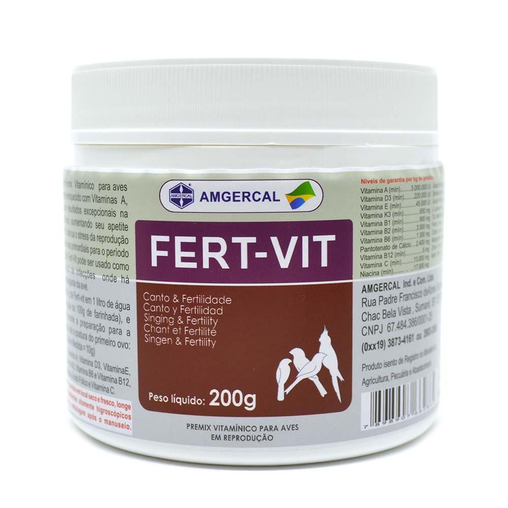 Fert-Vit - Canto e Fertilidade - 200g