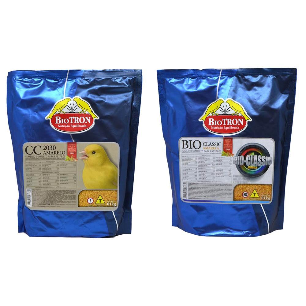 Kit 1 Cc 2030 Amarela 1kg + 1 BioClassic Amarela 1kg Biotron