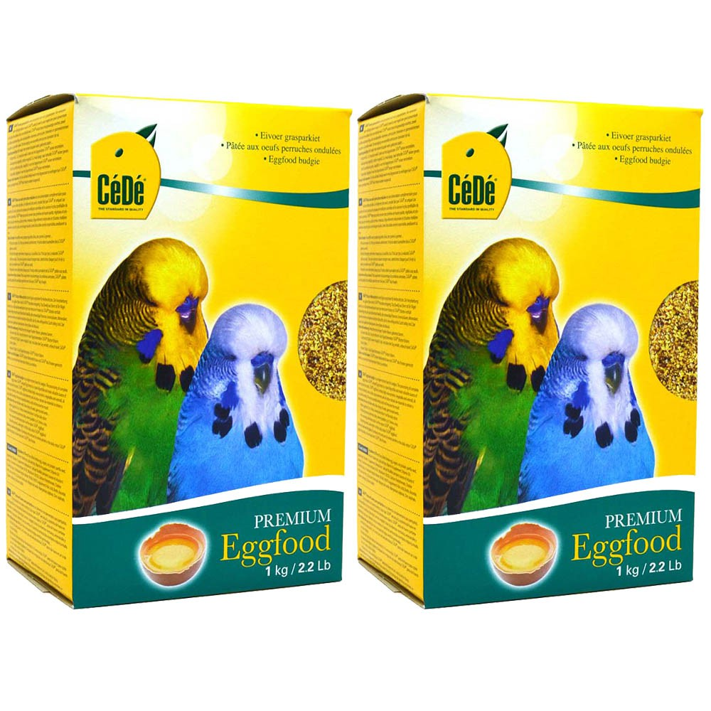 Kit 2 Farinhada Calopsitas Periquitos Budgies 1kg - Cédé