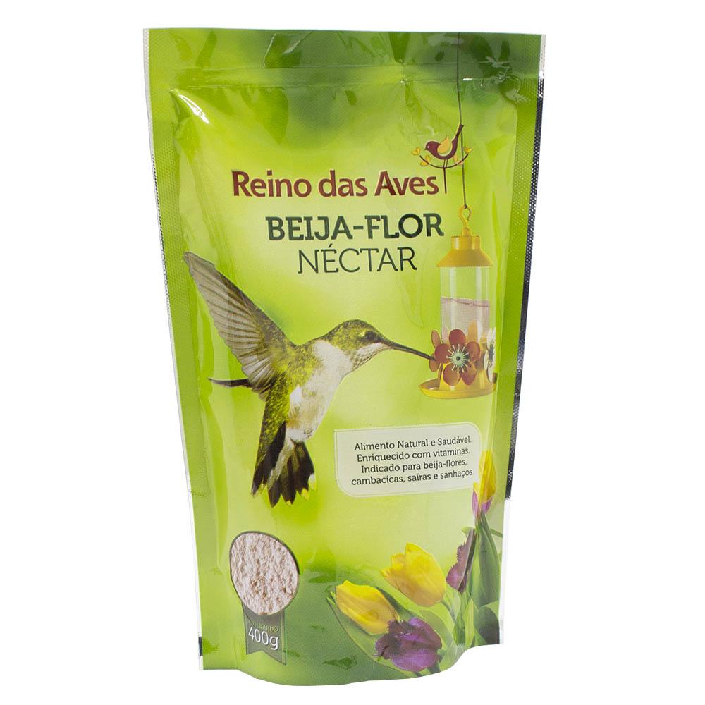 Néctar Beija Flor Refil - 400g - Reino das Aves