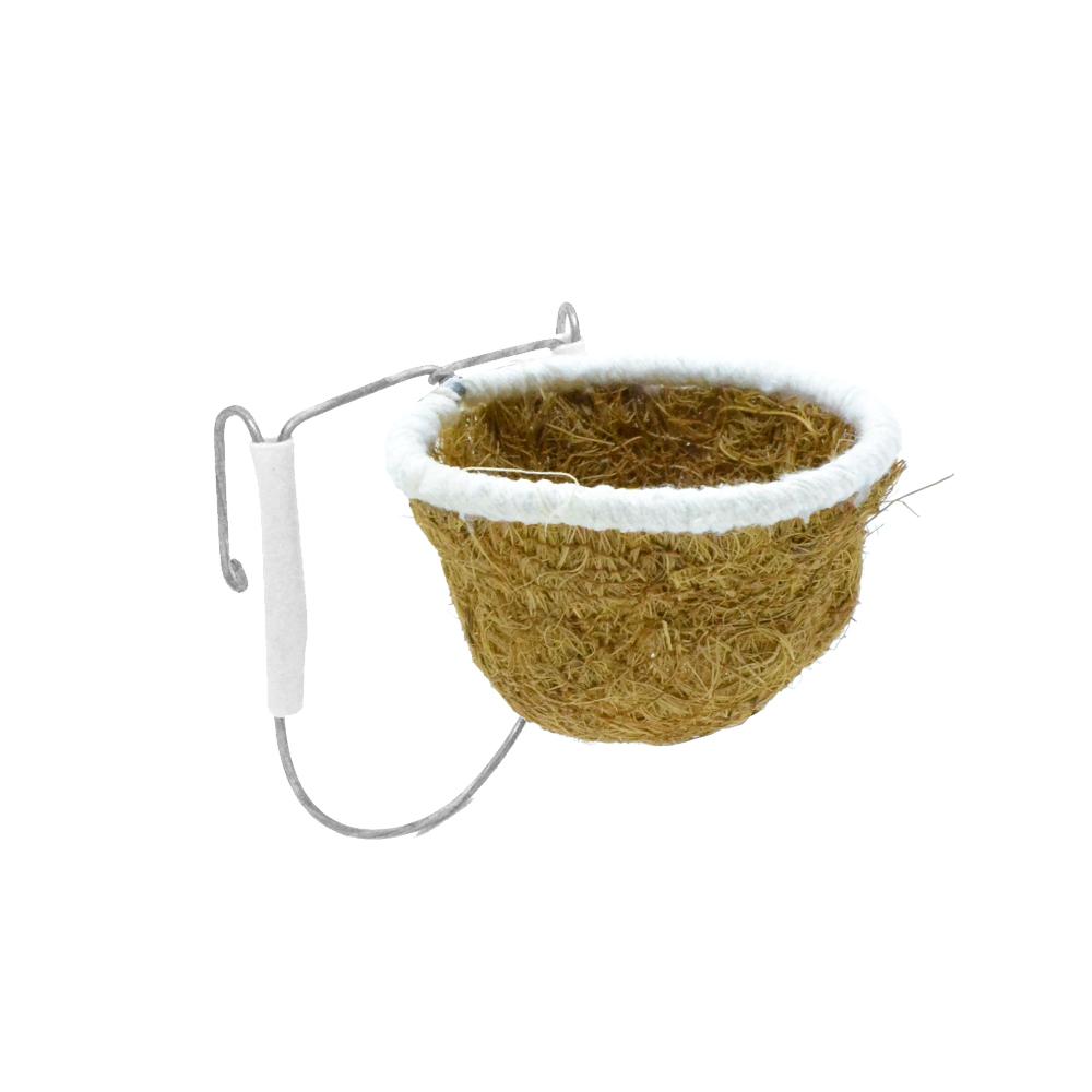 Ninho Fibra de Côco - Coleira e Pintassilgo