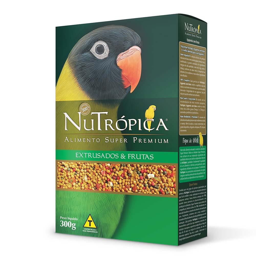 Nutrópica Agapornis com frutas - 300g