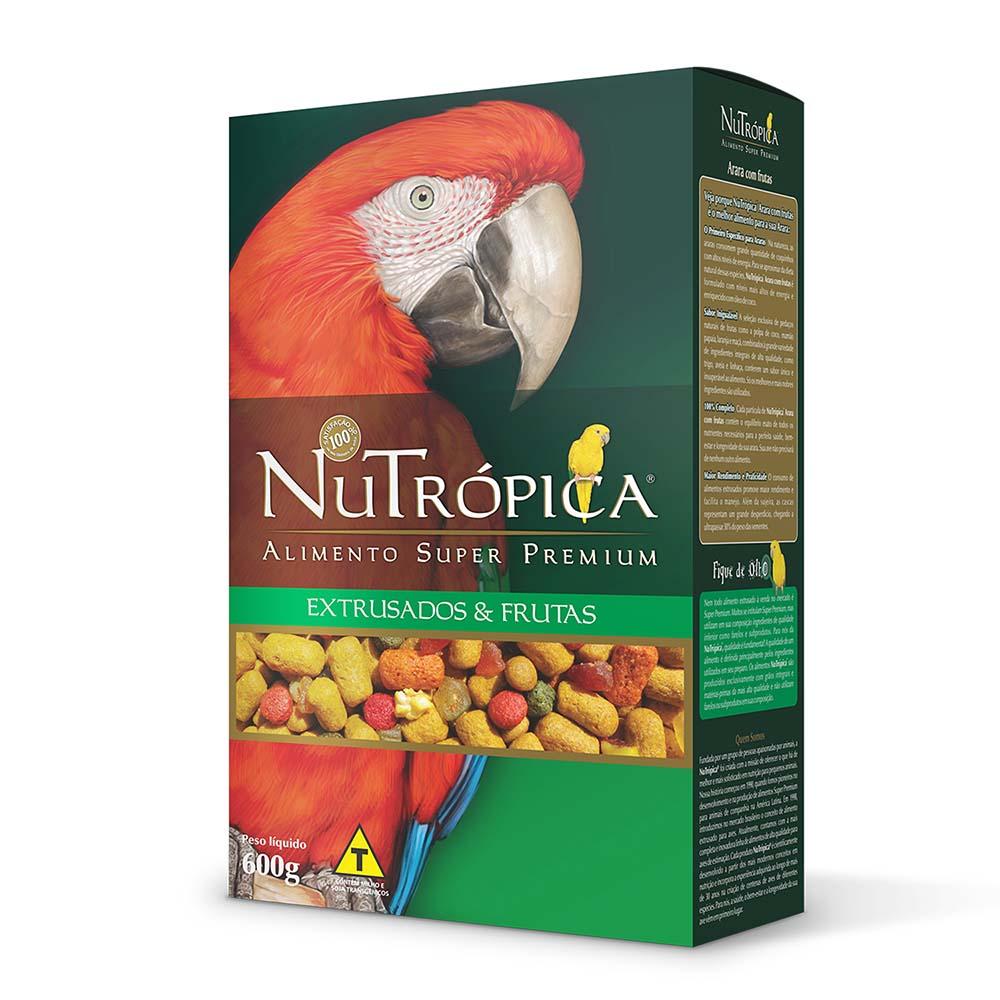 Nutrópica Arara com frutas - 600g