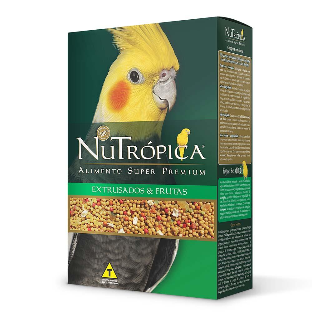 Nutrópica Calopsita com frutas - 300g