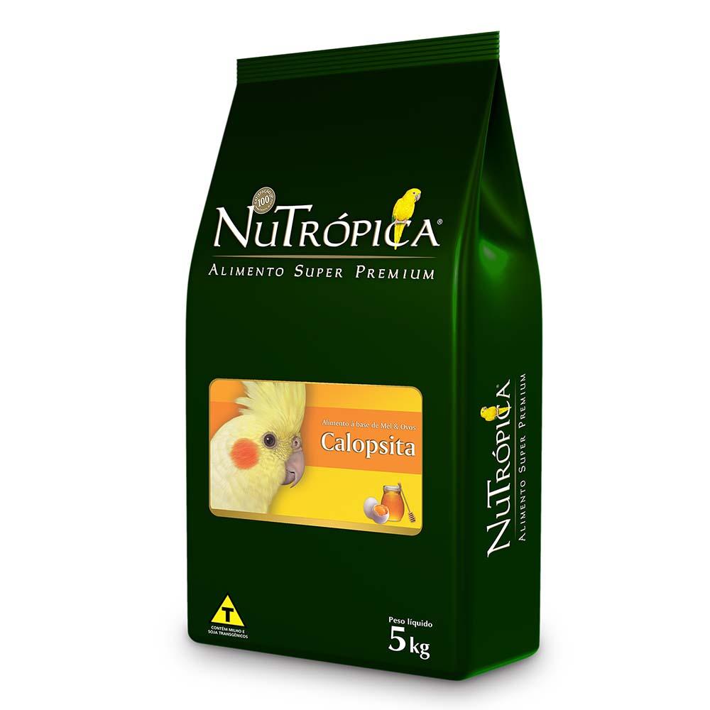 Nutrópica Calopsitas - à base de Mel e Ovos - 5kg