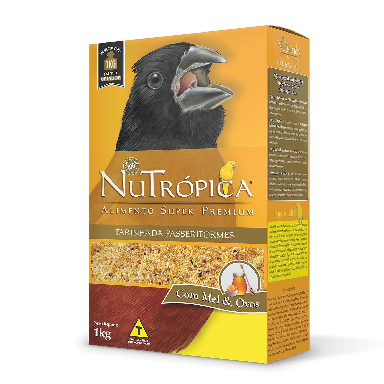 Nutrópica Curió - Farinhada Passeriformes com Mel e Ovos - 1kg