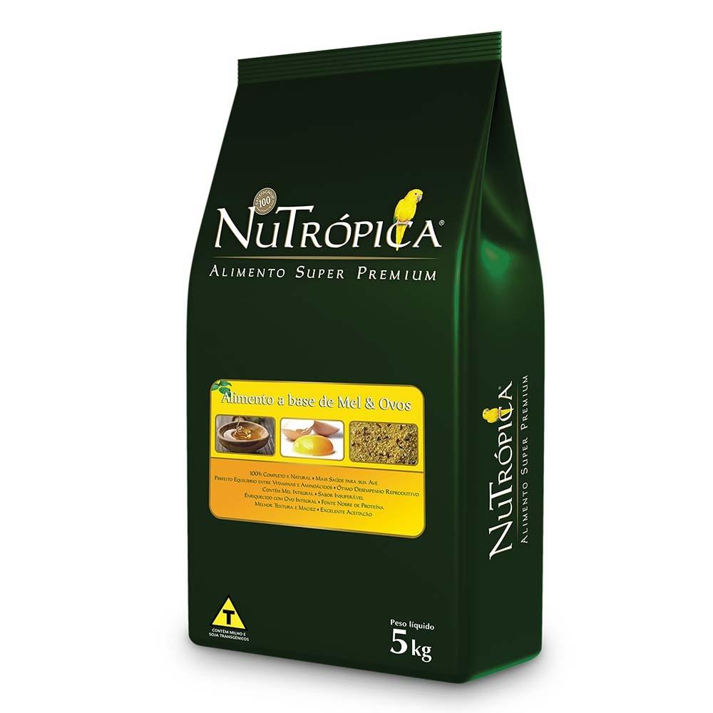 Nutrópica Farinhada à Base de Mel e Ovos - 5kg