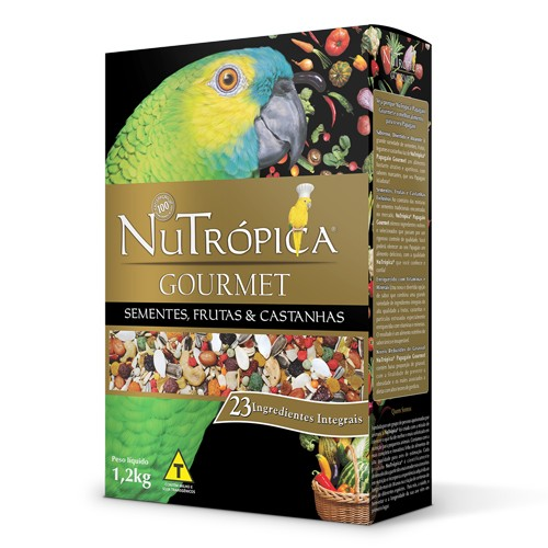 Nutrópica Papagaio Gourmet - 1,2kg