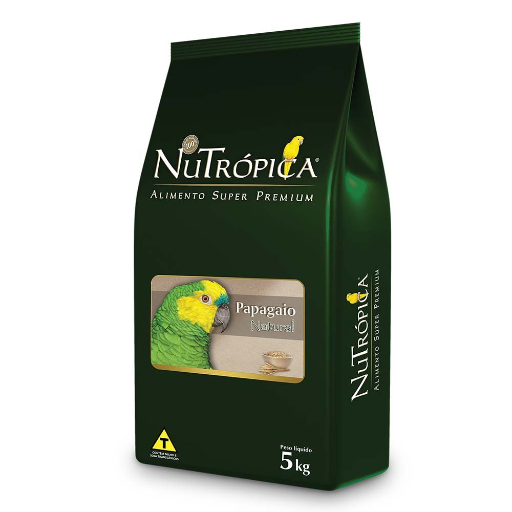 Nutrópica Papagaio NaTural - 5kg