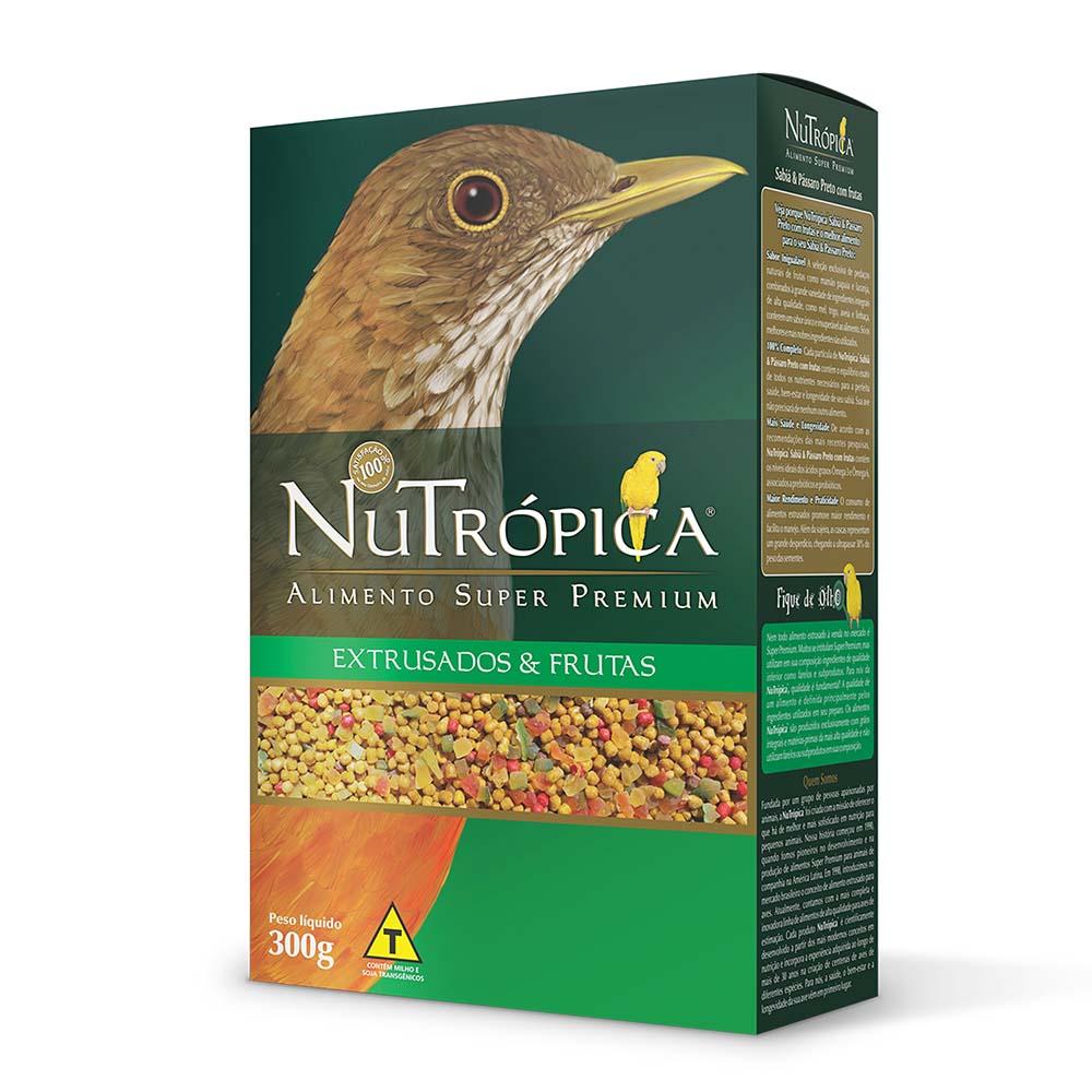 Nutrópica Sabiá & Pássaro Preto - 300g