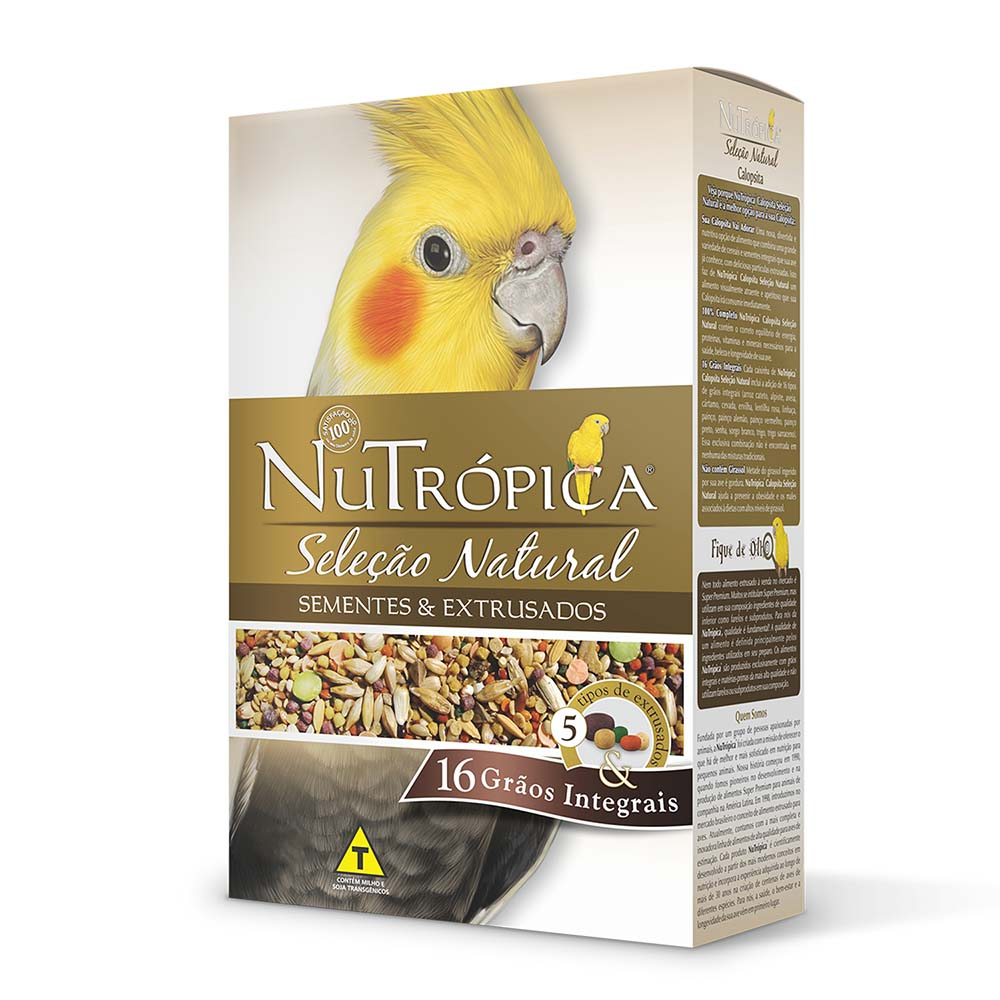 Nutrópica Seleção Natural - Calopsita
