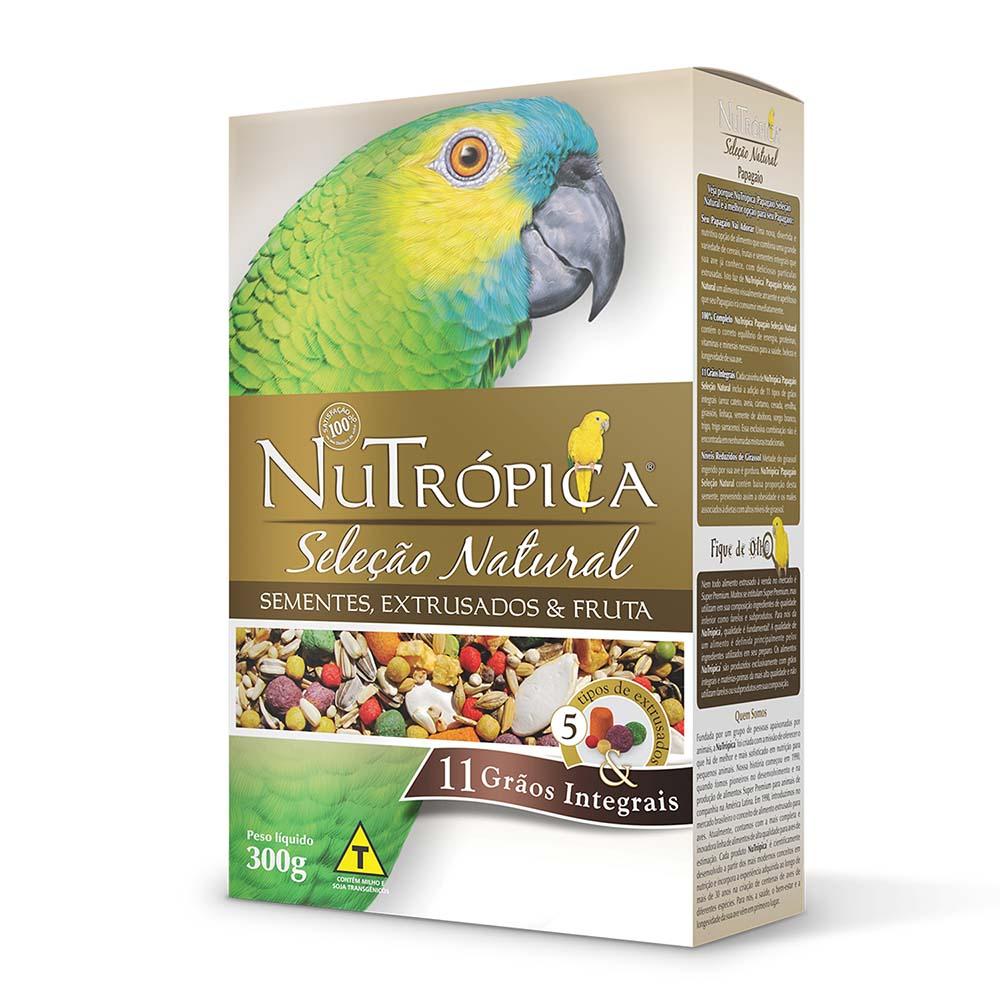 Nutrópica Seleção Natural - Papagaio